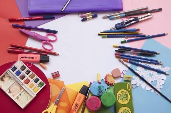 materiales escolares