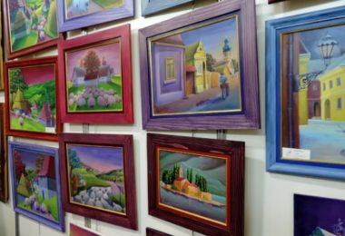 arte en cuadros del hogar