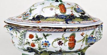 caja de porcelana