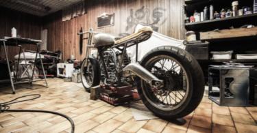 moto en taller