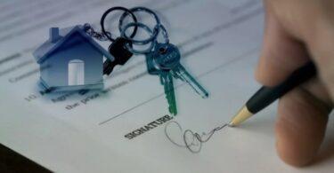 firmando propiedad